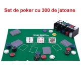 POKER TEXAS HOLD'EM SET 300 de jetoane