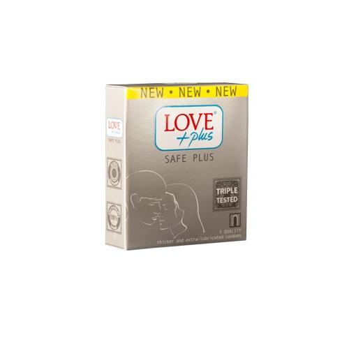 Prezervative Love Plus Safe Plus 3buc (Valmy Shop)