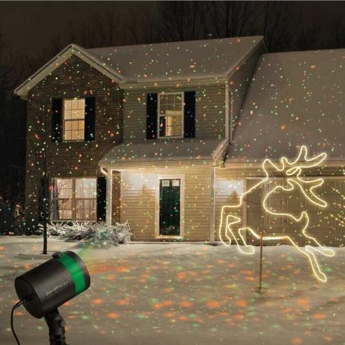 Proiector Laser exterior / interior,  ideal pentru Craciun!
