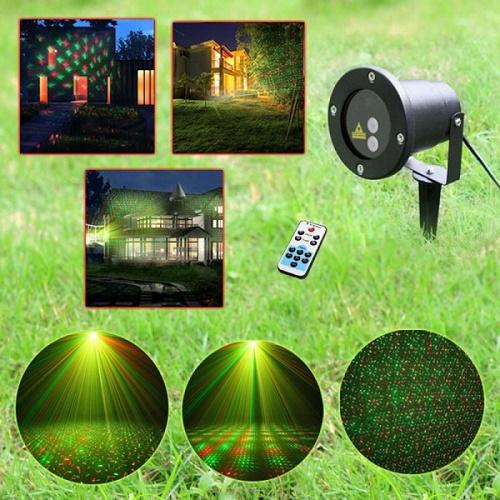 Laser pentru exterior/interior cu telecomanda Ideal pentru Craciun