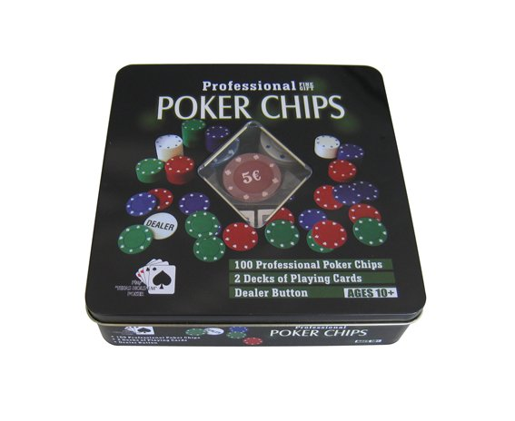 SET POKER CHIPS (Valmy Shop)