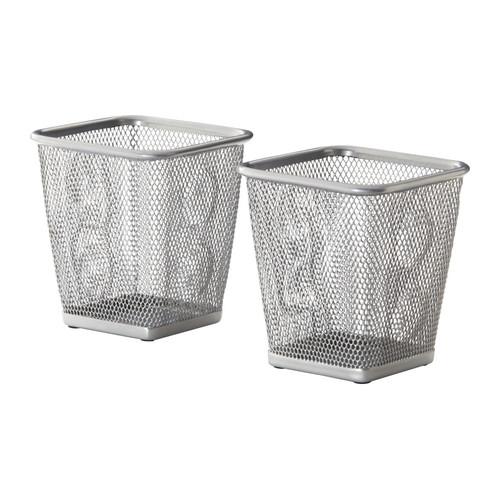 Suport pentru pixuri argintiu (Valmy Shop)