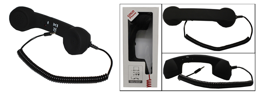 RECEPTOR TELEFON RETRO (Valmy Shop)