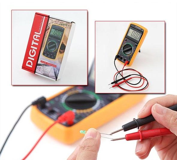 Multimetru Profesional Digital DT-9205A (Valmy Shop)