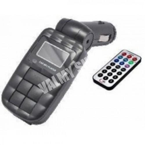 Modulator auto FM MP3 Player USB MMC TF SD (Valmy Shop)