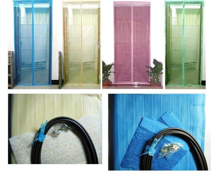 Perdea Anti Insecte cu Inchidere Magnetica - Diverse Culori