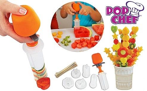 Set pentru ornat legume/fructe - Pop Chef (Valmy Shop)