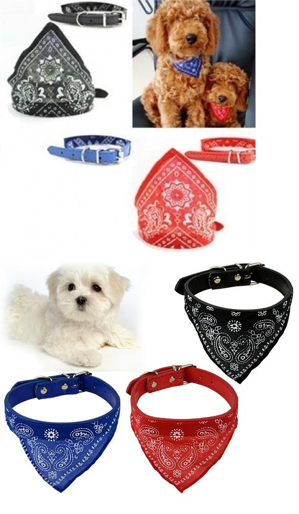 Zgarda cu bandana pentru animale (Valmy Shop)