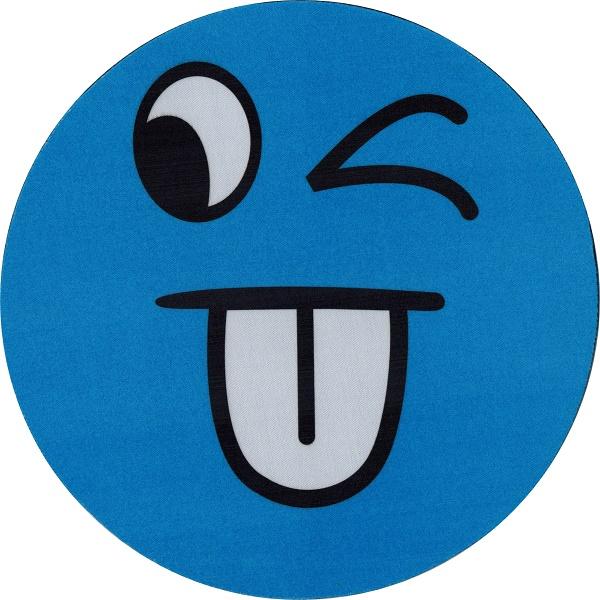 Mousepad forma rotunda albastru (Valmy Shop)