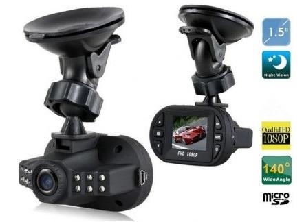 Camera auto dvr C600 Full HD 1080P 140 Grade Wide inflarosu